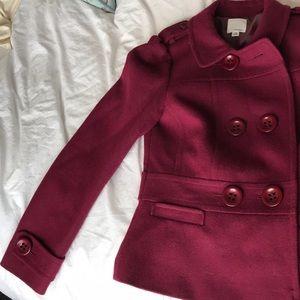 Nordstrom Halogen Pea coat XS